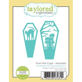 Taylored Expressions FROM THE CRYPT Die Set TE1133