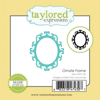 Taylored Expressions Little Bits ORNATE FRAME Die TE1132
