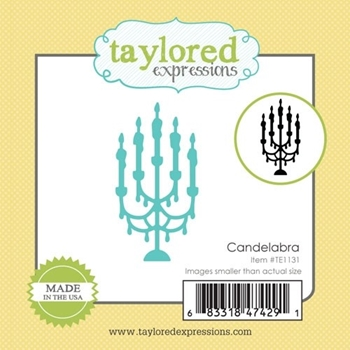 Taylored Expressions Little Bits CANDELABRA Die Set TE1131