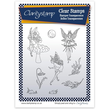 Claritystamp FAIRY 2 Clear Stamps and Mask STAFY10546A5v