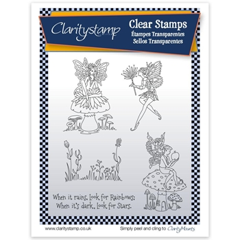 Claritystamp FAIRY 1 Clear Stamps and Mask STAFY10545A5