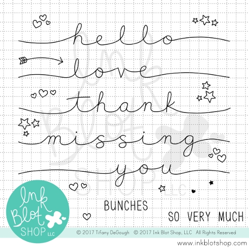 Ink Blot Shop STRETCHED SENTIMENTS
