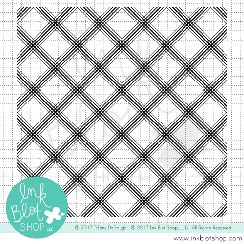 Ink Blot Shop PLAID BACKGROUND