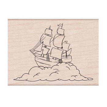 Hero Arts Rubber Stamp DREAMSHIP H6256