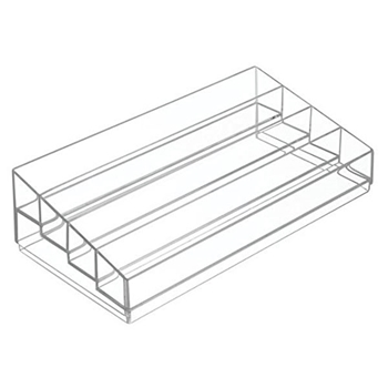 Interdesign CLARITY TIERED COMPARTMENT Organizer 40980