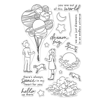 Hero Arts Clear Stamp DREAM BIG CM197