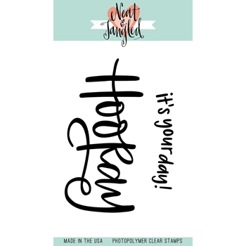 Neat and Tangled HOORAY Clear Stamp Set NAT293