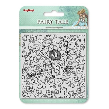 ScrapBerry's FAIRY TALE Clear Stamps SCB4904025