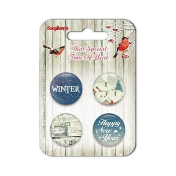ScrapBerry's THAT SPECIAL TIME OF YEAR 3 Embellishments SCB340001015