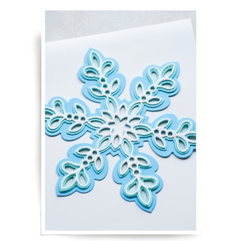 Birch Press Design GLITZ SNOWFLAKE LAYER SET Craft Dies 56065