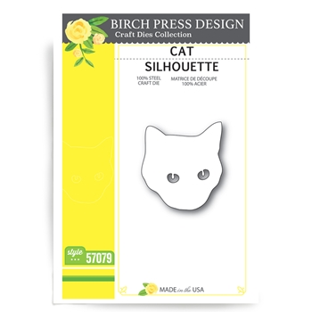 Birch Press Design CAT SILHOUETTE Craft Die 57079