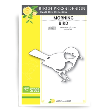 Birch Press Design MORNING BIRD Craft Die 57085