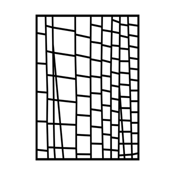 GelliArts LADDER Stencil for Printing Plate 779165