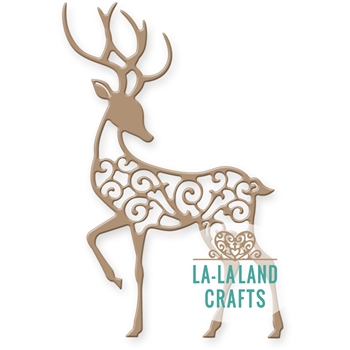 La-La Land Crafts FILIGREE REINDEER 2 Die 8330