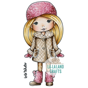 La-La Land Crafts Cling Stamp WINTER MOLLI 2024