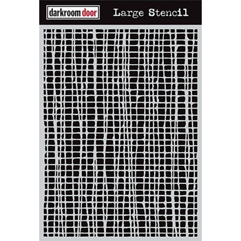 Darkroom Door MESH Large Stencil DDLS001