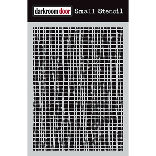 Darkroom Door MESH Small Stencil DDSS001 Preview Image