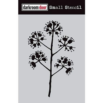 Darkroom Door BLOSSOM Small Stencil DDSS006