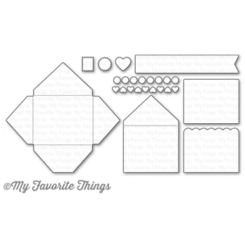 My Favorite Things MINI MAIL Die-Namics MFT1135