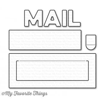 My Favorite Things MAIL DELIVERY Die-Namics MFT1141