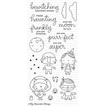 My Favorite Things HAPPY HAUNTING Clear Stamps CS218