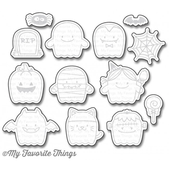 My Favorite Things FAB-BOO-LOUS FRIENDS Die-Namics MFT1158