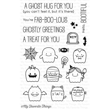 My Favorite Things FAB-BOO-LOUS FRIENDS Clear Stamps BB48