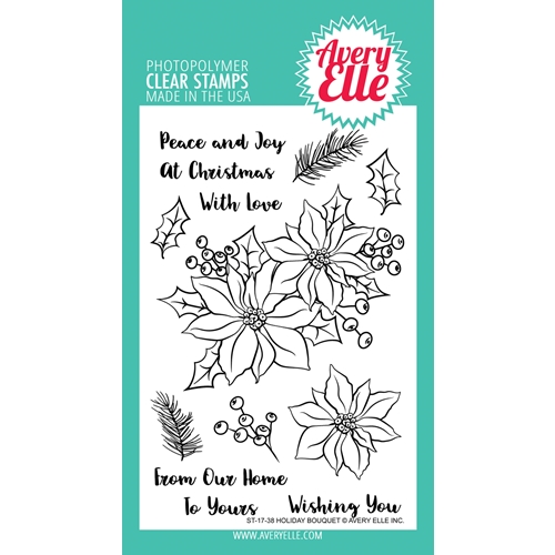 Avery Elle Clear Stamps HOLIDAY BOUQUET  Preview Image