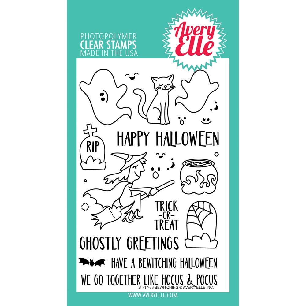 Avery Elle Clear Stamps BEWITCHING * zoom image