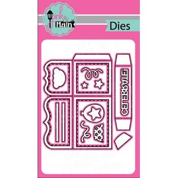 Pink and Main BOX CARD Die Set 023372