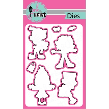 Pink and Main SPOOKTACULAR Die Set 023341