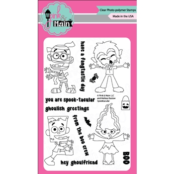 Pink and Main SPOOKTACULAR Clear Stamp Set 023334