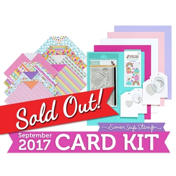 Simon Says Stamp Card Kit of The Month SEPTEMBER 2017 BEST BIRTHDAY CK0917