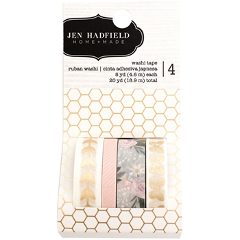 Pebbles Inc. Jen Hadfield WASHI TAPE Heart of Home 733759