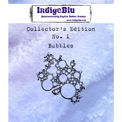 IndigoBlu Cling Stamp BUBBLES Collectors Edition No. 1 Rubber IND0329 Preview Image