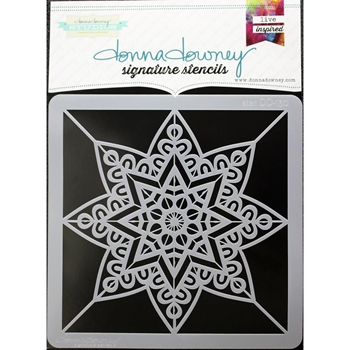 Donna Downey STAR Signature Stencil DD130