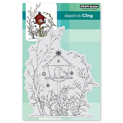 Penny Black Cling Stamp ADORNED ABODE 40-562 Preview Image