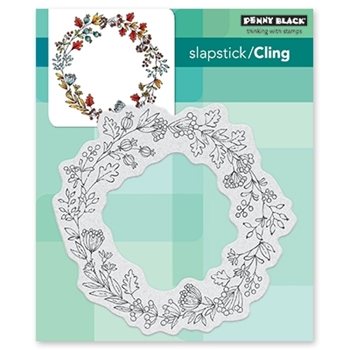 Penny Black Cling Stamp BERRY CIRCLE 40-559