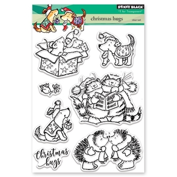 Penny Black Clear Stamp CHRISTMAS HUGS 30-441