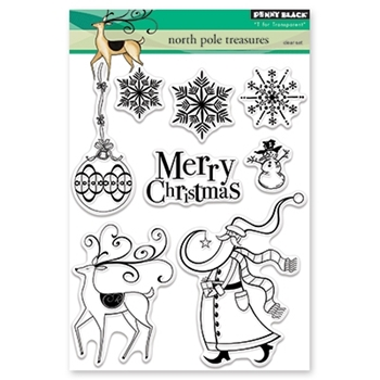 Penny Black Clear Stamp NORTH POLE TREASURES 30-437