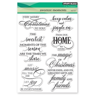 Penny Black Clear Stamp SWEETEST MOMENTS 30-436 Preview Image