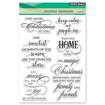 Penny Black Clear Stamp SWEETEST MOMENTS 30-436