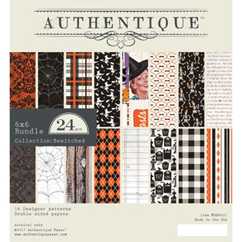 Authentique 6 x 6 BEWITCHED Paper Pad BEW010
