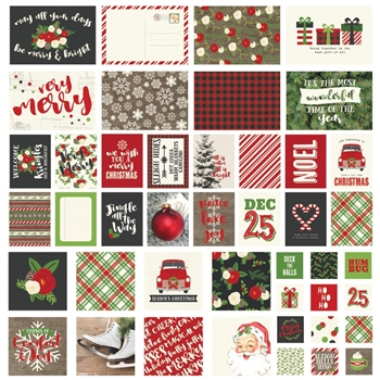Simple Stories VERY MERRY Snap Cards 9263
