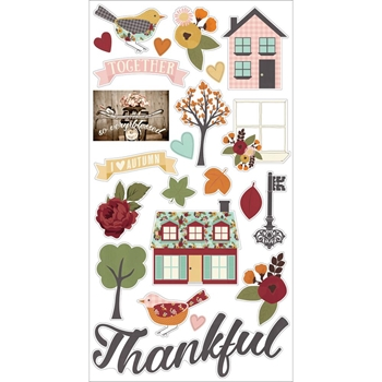 Simple Stories VINTAGE BLESSINGS 6 x 12 Chipboard Stickers 9236