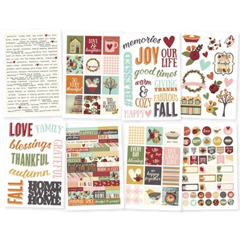 Simple Stories VINTAGE BLESSINGS 4 x 6 Stickers 9238