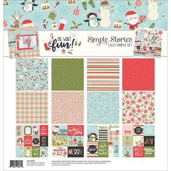 Simple Stories OH WHAT FUN 12 x 12 Collection Kit 9286