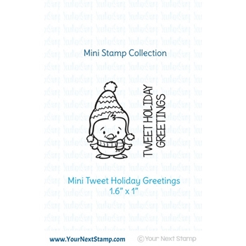 Your Next Stamp MINI TWEET HOLIDAY Clear CYNS513