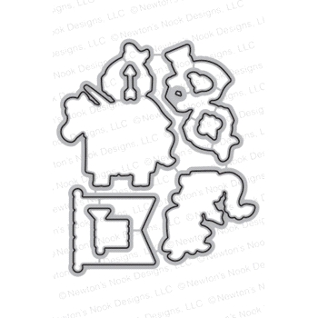 Newton's Nook Designs KNIGHT'S QUEST DIE Set NN1708D01
