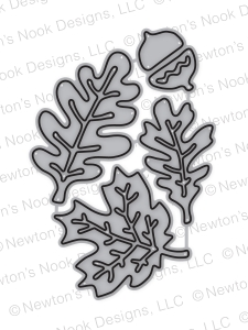 Newton's Nook Designs AUTUMN LEAVES Die NN1708D05